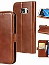 Θήκη Za Samsung Galaxy S9 / S9 Plus / S8 Plus Utor za kartice / Zaokret / S magnetom Korice Jednobojni Tvrdo prava koža