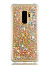 Kılıf Na Samsung Galaxy S9 / S9 Plus / S8 Plus Odporny na wstrząsy / Z płynem / Połysk Osłona tylna Serce / Połysk Miękka TPU