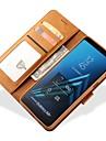 Kılıf Na Samsung Galaxy A5 (2018) / Galaxy A7(2018) / A8 2018 Portfel / Etui na karty Pełne etui Solidne kolory Twardość Skóra PU