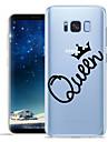 Kılıf Na Samsung Galaxy S8 Plus / S8 / S7 Edge Wzór Osłona tylna Napis / Zdanie Miękka TPU