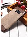 Kılıf Na Samsung Galaxy Note 8 / Note 5 / Note 4 Odporny na wstrząsy Osłona tylna Jednokolorowe Twardość Skóra PU