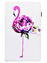 Kılıf Na Samsung Galaxy Tab A 10.1 (2016) Z podpórką / Wzór / Automatyczne uśpienie / wybudzenie Pełne etui Flaming Twardość Skóra PU