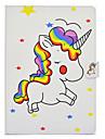 Kılıf Na Samsung Galaxy Tab E 9.6 / Tab 9.7 / Tab A 10.1 (2016) Etui na karty / Odporny na wstrząsy / Z podpórką Pełne etui Jednorożec Twardość Skóra PU