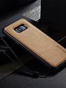 Kılıf Na Samsung Galaxy S8 Plus / S8 / S7 Edge Odporny na wstrząsy / Ultra cienkie / Zrób to Sam Osłona tylna Solidne kolory Twardość Skóra PU