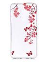 Kılıf Na Samsung Galaxy S9 / S9 Plus / S8 Plus IMD / Wzór / Przezroczysta obudowa Osłona tylna Kwiat Miękka TPU