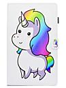 Kılıf Na Samsung Galaxy Tab A 10.1 (2016) Z podpórką / Wzór / Automatyczne uśpienie / wybudzenie Pełne etui Kreskówki Twardość Skóra PU