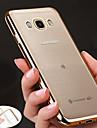 Kılıf Na Samsung Galaxy J7 Prime / J7 (2017) / J7 (2016) Powłoka / Ultra cienkie / Przezroczysta obudowa Osłona tylna Solidne kolory Miękka TPU