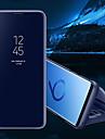 Kılıf Na Samsung Galaxy S8 Plus / S8 / S7 Edge Z podpórką / Lustro / Flip Pełne etui Solidne kolory Twardość Skóra PU