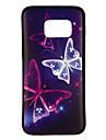 Kılıf Na Samsung Galaxy S8 / S7 Edge / S7 Wzór Osłona tylna Motyl Miękka TPU