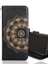 Kılıf Na Samsung Galaxy S9 / S9 Plus / S8 Plus Portfel / Etui na karty / Flip Pełne etui Kwiat Twardość Skóra PU