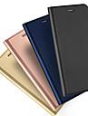 Kılıf Na Jabłko iPhone XS / iPhone XR / iPhone XS Max Etui na karty / Flip / Magnetyczne Pełne etui Solidne kolory Twardość Skóra PU