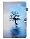 Kılıf Na Samsung Galaxy Tab E 9.6 / Tab E 8.0 / Tab 9.7 Etui na karty / Z podpórką / Flip Pełne etui Drzewo Twardość Skóra PU