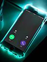 Kılıf Na Samsung Galaxy S9 / S9 Plus / S8 Plus Odporny na wstrząsy / Migające oświetlenie LED / Transparentny Osłona tylna Solidne kolory Miękka TPU