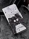 Kılıf Na Samsung Galaxy S9 / S9 Plus / S8 Plus Portfel / Etui na karty / Z podpórką Pełne etui Kot Twardość Skóra PU