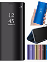 Kılıf Na Samsung Galaxy A6 (2018) / A6+ (2018) / A3(2017) Z podpórką / Lustro Pełne etui Solidne kolory Twardość Skóra PU