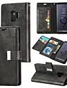 Θήκη Za Samsung Galaxy S9 / S9 Plus / S8 Plus Novčanik / Utor za kartice / Zaokret Korice Jednobojni Tvrdo PU koža