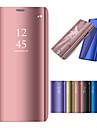 Coque Pour Samsung Galaxy On7(2016) / On5(2016) / J7 Prime Avec Support / Plaque / Miroir Coque Integrale Couleur Pleine Dur PC