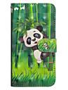 Kılıf Na Samsung Galaxy J7 (2017) / J6 / J5 (2017) Portfel / Etui na karty / Z podpórką Pełne etui Panda Twardość Skóra PU