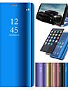 Kılıf Na Samsung Galaxy J7 (2017) / J7 (2016) / J6 Z podpórką / Powłoka / Lustro Pełne etui Solidne kolory Twardość Skóra PU