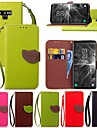Kılıf Na Samsung Galaxy Note 5 / Note 4 / Note 3 Etui na karty / Z podpórką / Flip Pełne etui Rośliny Twardość Skóra PU