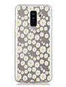 Kılıf Na Samsung Galaxy A6 (2018) / A6+ (2018) / A3(2017) Transparentny / Wzór Osłona tylna Kwiat Miękka TPU