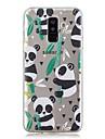 Kılıf Na Samsung Galaxy A6 (2018) / A6+ (2018) / A3(2017) Transparentny / Wzór Osłona tylna Panda Miękka TPU