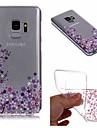 Kılıf Na Samsung Galaxy S9 / S9 Plus / S8 Plus IMD / Transparentny / Wzór Osłona tylna Kwiat Miękka TPU