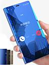 Kılıf Na Samsung Galaxy Note 9 / Note 8 / Note 5 Z podpórką / Lustro / Flip Pełne etui Solidne kolory Twardość PC