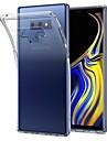 Kılıf Na Samsung Galaxy Note 9 / Note 8 / Note 5 Ultra cienkie / Transparentny Osłona tylna Solidne kolory Miękka TPU