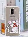 Kılıf Na Samsung Galaxy A6 (2018) / A6+ (2018) / A3(2017) Transparentny / Wzór Osłona tylna Kot Miękka TPU