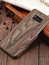 Kılıf Na Samsung Galaxy S8 Plus / S8 / S7 Edge Ultra cienkie Osłona tylna Tekstura drewna Twardość PC