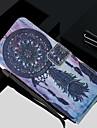 Kılıf Na Samsung Galaxy S8 Plus / S8 / S7 Edge Portfel / Etui na karty / Z podpórką Pełne etui Łapacz snów Twardość Skóra PU