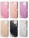 Kılıf Na Samsung Galaxy S9 / S9 Plus / S8 Plus Portfel / Etui na karty / Kryształ górski Pełne etui Połysk / Kryształ górski / Kwiat Twardość Skóra PU