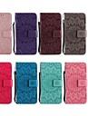 Kılıf Na Samsung Galaxy Note 9 / Note 8 / Note 5 Portfel / Etui na karty / Z podpórką Pełne etui Kwiat Twardość Skóra PU
