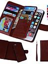 Kılıf Na Jabłko iPhone XS / iPhone XR / iPhone XS Max Portfel / Etui na karty / Odporny na wstrząsy Pełne etui Solidne kolory Twardość Prawdziwa skóra