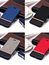Kılıf Na Samsung Galaxy A5 (2018) / A6 (2018) / A6+ (2018) Portfel / Etui na karty / Z podpórką Pełne etui Solidne kolory Twardość Skóra PU