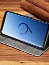 Kılıf Na Samsung Galaxy S9 Plus / S9 Etui na karty / Odporny na wstrząsy Pełne etui Solidne kolory Twardość Skóra PU na S9 / S9 Plus / S8 Plus