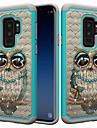 Kılıf Na Samsung Galaxy S9 / S9 Plus / S8 Plus Odporny na wstrząsy / Kryształ górski / Wzór Osłona tylna Sowa / Kryształ górski Twardość PC