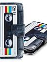 Kılıf Na Samsung Galaxy A5 (2018) / A5(2017) / A8 2018 Portfel / Etui na karty / Z podpórką Pełne etui Dachówka Twardość Skóra PU