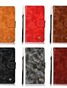 Kılıf Na Samsung Galaxy S9 / S9 Plus / S8 Plus Etui na karty / Flip / Matowa Pełne etui Solidne kolory Twardość Skóra PU