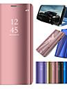 Kılıf Na Samsung Galaxy Note 9 / Note 8 / Note 5 Z podpórką / Powłoka / Lustro Pełne etui Solidne kolory Twardość PC
