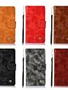 Kılıf Na Asus ASUS ZenFone Max Pro ZB602KL / Asus Zenfone Go ZB551KL / Asus Zenfone 4 Selfie ZD553KL Portfel / Etui na karty / Z podpórką Pełne etui Solidne kolory Twardość Skóra PU