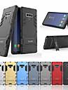Kılıf Na Samsung Galaxy Note 9 Odporny na wstrząsy / Z podpórką Osłona tylna Solidne kolory Twardość PC