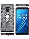 Kılıf Na Samsung Galaxy A5 (2018) / A8 2018 / A8+ 2018 Odporny na wstrząsy / Uchwyt pierścieniowy Osłona tylna Zbroja Miękka TPU