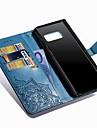 Kılıf Na Samsung Galaxy Note 8 Portfel / Etui na karty / Z podpórką Pełne etui Mandala Twardość Skóra PU