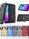 Kılıf Na Samsung Galaxy J6 (2018) Odporny na wstrząsy / Z podpórką Osłona tylna Solidne kolory Twardość PC