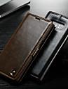 Kılıf Na Samsung Galaxy Note 9 / Note 8 / Note 5 Portfel / Etui na karty / Z podpórką Pełne etui Solidne kolory Twardość Skóra PU