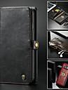 Kılıf Na Samsung Galaxy Note 9 / Note 8 Portfel / Etui na karty / Z podpórką Pełne etui Solidne kolory Twardość Skóra PU