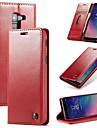 Kılıf Na Samsung Galaxy A6 (2018) / Galaxy A7(2018) / A8 2018 Portfel / Etui na karty / Odporny na wstrząsy Pełne etui Solidne kolory Twardość Skóra PU