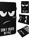 Kılıf Na Samsung Galaxy Tab 4 10.1 / Tab S4 10.5 (2018) / Tab 9.7 Portfel / Etui na karty / Odporny na wstrząsy Pełne etui Napis / Zdanie Twardość Skóra PU